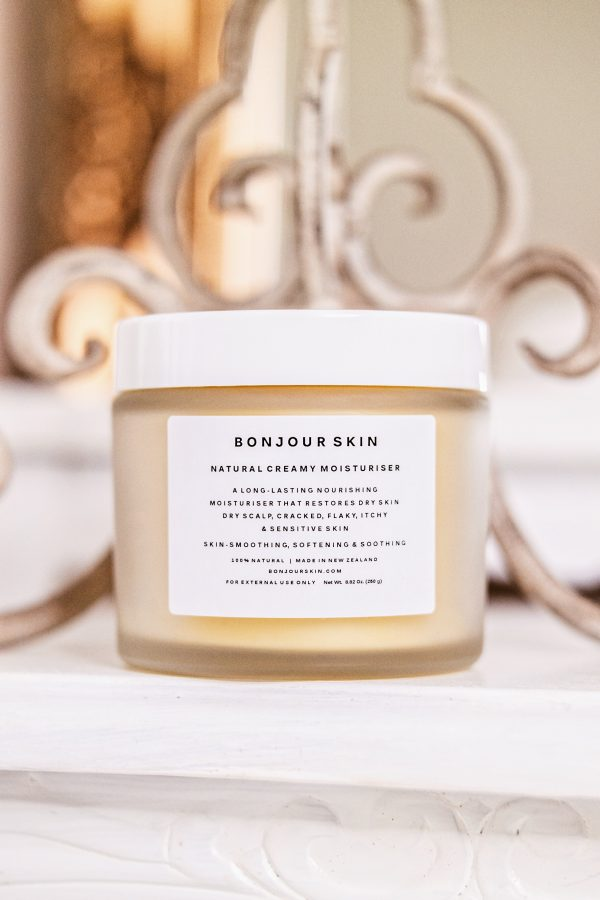 Bonjour Skin NZ Natural Moisturizer Cream For Dry Skin Itchy Skin Dry Scalp Sensitive Skin Condition Psoriasis Eczema