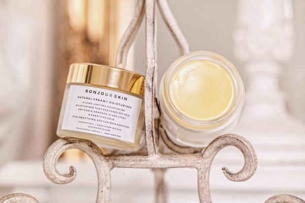 Bonjour Skin NZ Natural Moisturizer Cream For Dry Skin Itchy Skin Dry Scalp Sensitive Skin Condition Psoriasis Eczema